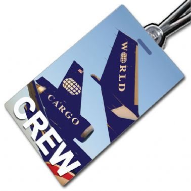 World Airways tail - Crew Tag
